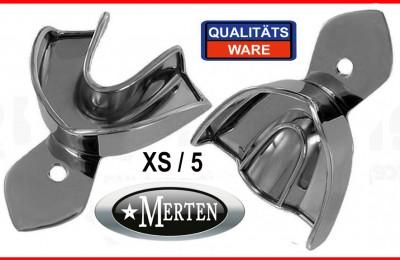 Abdrucklöffel 10 glatt -  Rim-Lock  Größe XS/5