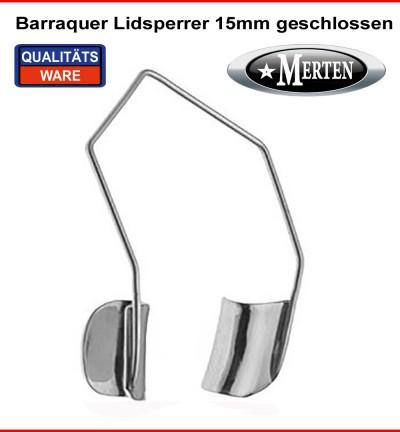 Barraquer Lidsperrer 15mm