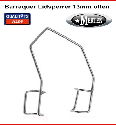Barraquer Lidsperrer  Jugendl. Fenster - 13mm