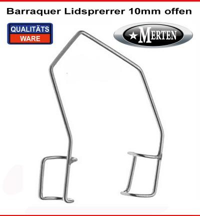 Barraquer Lidsperrer  offen
