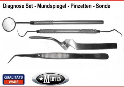Instrumente Diagnose Diagnostik Set -