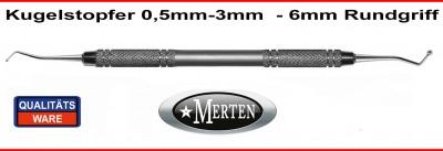 Kugelstopfer 0,5-3,0mm