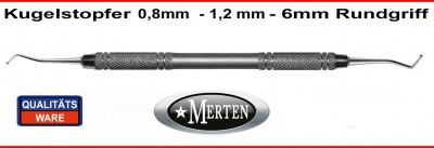 Kugelstopfer 0,8mm - 1,2mm