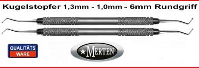 Kugelstopfer 1,0 mm +  1,3 mm