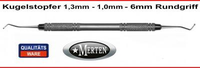 Kugelstopfer 1,0-1,3mm