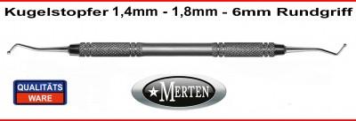 Kugelstopfer 1,4-1,8mm