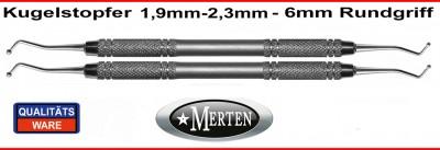 Kugelstopfer 1,9 mm +  2,3 mm