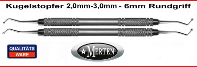 2 x Kugelstopfer 2,0- 3,0mm