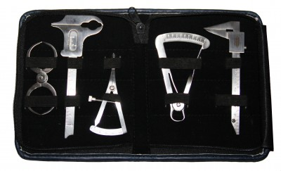 Messzirkelset - Implantologie Tasterzirkel Castroviejo