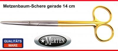 Metzenbaum Schere -  11,5 cm gerade
