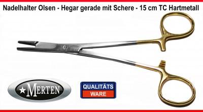 Nadelhalter Olsen Hegar mit Schere