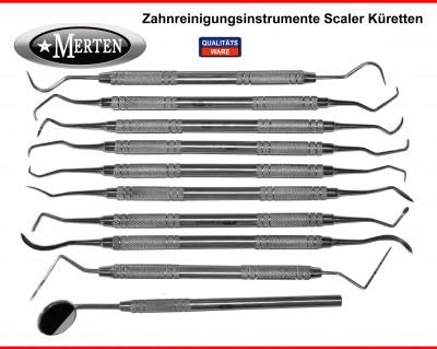 Instrumente PZR Mundhygiene