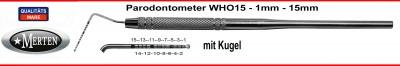 Parodontometer WHO 15 mit Kugel