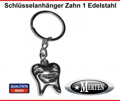 Schlüsselanhänger  Smiley - Zahn