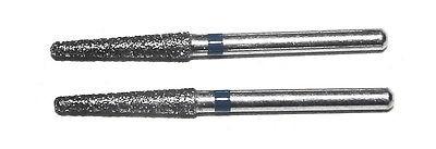 Diamanteinsätze Bohrer 2 x 1,6mm - grob - Teleskopzange  - Konuskronenzange