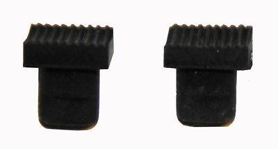 2 Silikonbacken Silikoneinsätze schwarz Kronenzange Provisorienzange