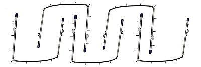 5 x Kofferdam Rahmen 11,5 cm - Kofferdamrahmen   Edelstahl