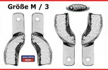 4 Abdrucklöffel Größe M Rimlock - partiell perforiert  Impression Trays partial