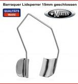 Barraquer Lidsperrer 15mm- Retractor - Opthalmologie - Eye Speculum