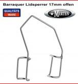 Barraquer Lidsperrer  Erwachsene Fenster - 17mm-  Augen Spekulum - Eye Speculum