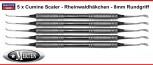 5 x  Cumine Scaler 8 mm - leicht - Rheinwaldhäkchen - Provisorien-Entferner