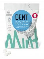 """Denttabs Zahnputztabletten  -  125 Zahntabletten Stevia Mint""""    VEGAN"""