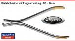 Distalschneider mit Fangvorrichtung 15 cm  - Distal  Cutter  - Distal Schneider