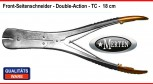 Front- Seitenschneider Dental - TC Wire Cutter Double Action   - Dental Lab