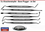 6 Knochenstopfer - Bone Graft Packer