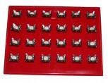 24 Kofferdam Klammern- Gr. 14 A -Kofferdamklammern Set