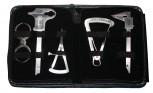 5 x Messzirkelset - Implantologie Tasterzirkel Castroviejo Messlehre Zahnmedizin