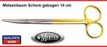 Metzenbaum Schere -   14 cm gebogen  TC Hartmetall - PERMA-CUT