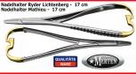 2x Nadelhalter  Mathieu + Ryder Lichtenberg 17 cm   - TC  Hartmetalleinlagen