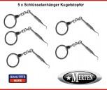 5 Schlüsselanhänger  Kugelstopfer  - Zahnarzt Zahnarzthelferin Zahnarztpraxis