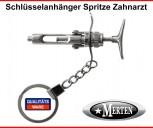 Schlüsselanhänger Spritze -  Zahnarzt  Injektionsspritze - 2 -Zahnarzthelferin