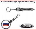Schlüsselanhänger Spritze 3 -  Zahnarzt  Injektionsspritze -Zahnarzthelferin
