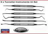6 Tunnelier-Instrumente  - Periosteal - Raspatorium