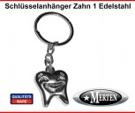 Schlüsselanhänger  Smiley - Zahn - Zahntechnik  Dentallabor Zahntechniker