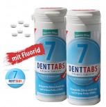 2 x 380 Denttabs Zahnputztabletten - Zahntabletten - STEVIA-MINT = 760 Denttabs