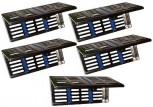 5 x Containerkassette - Instrumenten - Tray Wash-Tray für  5 Instrumente