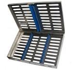 10er Instrumentenkassette Sterilisations-Kassette  Container Wash Tray Steri