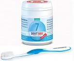 Denttabs Zahnbürste + plus 125 Denttabs Zahnputztabletten mit Fluorid